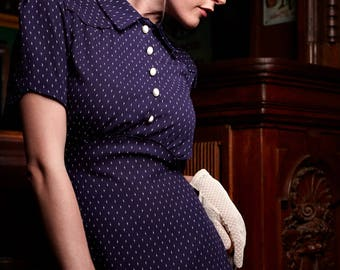 1940s dress after original cut