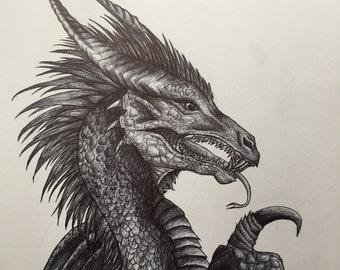 Dragon in Pen