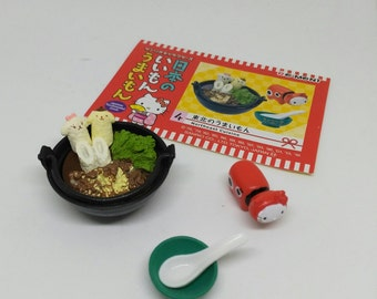 DISCOUNT 30% Re-Ment Miniature Hello Kitty: Northeast Cuisine, miniatures, dollhouse miniatures, foods, sanrio, tiny toys