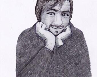JackSepticEye Realism Drawing