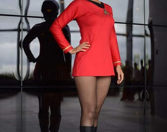 Star Trek Uhura uniform cosplay