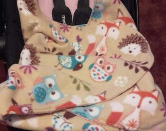 Winter Cosy car seat blanket
