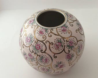 CLEARANCE Ginger jar hand painted Classic Traditions Vintage #231