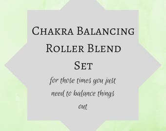 Chakras Essential Oil Blend Chakra balancing meditation oil alignment blend  balance custom essential oil chakra stimulating manifesting