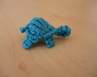 Macrame turtle