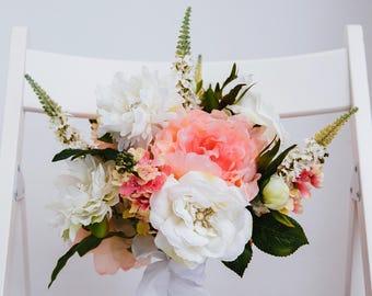 Anna Silk Flower Wedding Bouquet