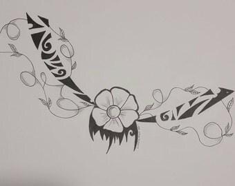 Maori Anklet