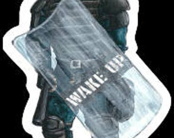 Riot Police (sticker)