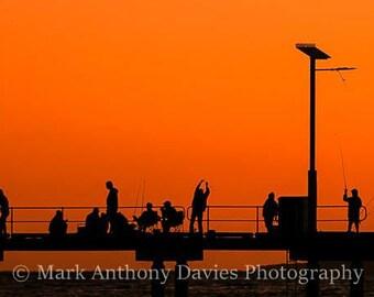 Sunset, Jurien Bay, Hooked on Fishing