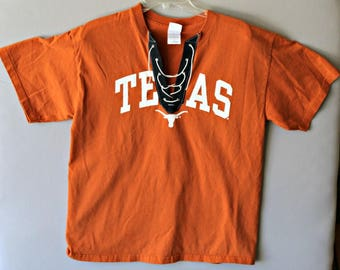 University of Texas Lace Up Tee