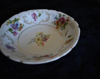 vintage fruit bowl set of four
