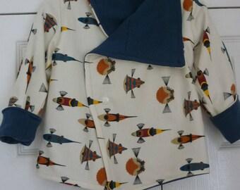 Little Boys Birch Organic Coat and Harems