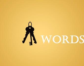 Key Words The Printable
