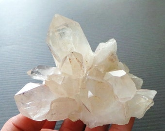 Raw Healing Crystal Quartz Cluster Points Spears Specimen Terminated Crystal Points