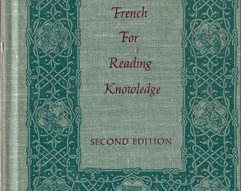 French For Reading Knowledge - Joseph Palmeri and E. E. Milligan - 1969 - Vintage Language Book