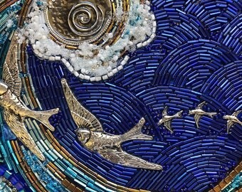 The Voyage beaded mosaic