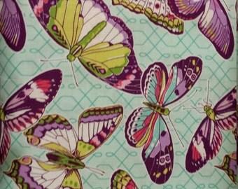 SALE Michael Miller Aflutter Butterflies Emma's Garden Butterflies 1 yard