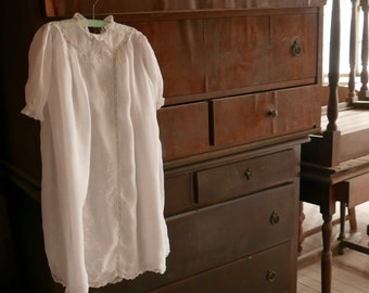 Antique Baby Gown 2 - 3 Years Old