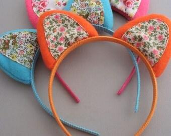 Cat Ears - Cat Headband - Cat Ears Headband - Costume Ears - Dress Up - Hair Accessory