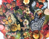 Monarch Migration - 8X18 limited edition print of a monarch butterfly tree