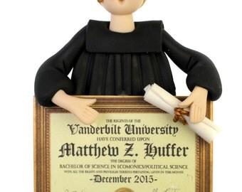 Graduate Bust Ornament