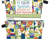 Quilt Retreat Project!  This fun project is a great gift.