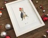 Custom Pet Portrait. Wonky funny Pet portrait commission || FAYE MOORHOUSE WONKYPETPORTRAIT
