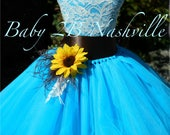 Sunflower Dress Turquoise...