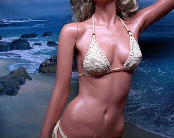 Erotic Crochet, Thong Bikini set