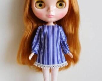 Stripe mini dress for Blythe