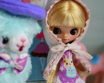 Leonora Lemon - Custom Petite Blythe Doll
