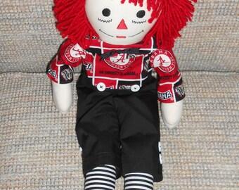 20 Inch Alabama Raggedy Andy Doll