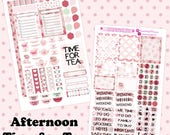 Afternoon Time for Tea Planner Stickers~