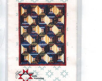 Craft Sewing Pattern Stars in the Cabins Patchwork Quilting Pattern Animas Quilts Publishing AQP-3401 UNCUT