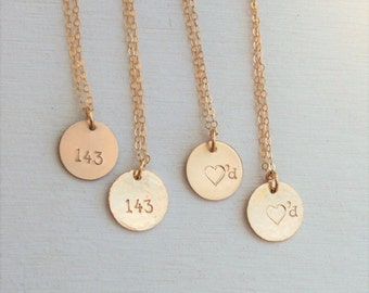 Valentine's Gift for her, I Love You Necklace, Valentines Gift for Wife, Valentine's Day Gift, Personalized Necklace, Personalized Jewelry