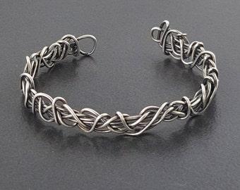 Sterling Silver Cuff Bracelet, cuff, bracelet, sterling silver, thin cuff, narrow cuff, silver bracelet, silver cuff, sterling cuff, silver