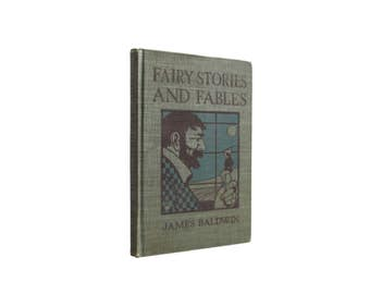Fairy Stories and Fables - antiquarian collection of children's stories from 1895 - Free US Shipping