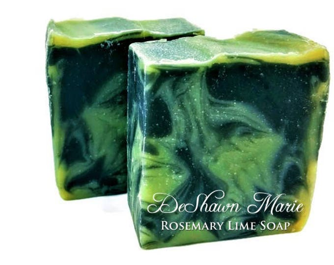 Rosemary Lime Activated Charcoal Soap