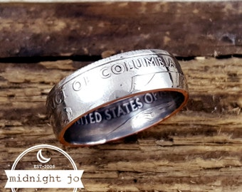 Coin Ring District of Columbia Your Size Washington DC MR0705-TSTDC