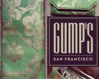 Gumps San Francisco Vintage Clutch