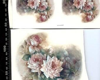 Decals for Ceramic, Vintage, Roses - BULK LOT