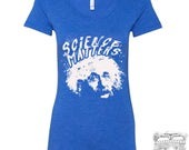 Womens SCIENCE Matters Einstein Lightweight Tri Blend t shirt [+Colors] S M L XL XXL -Bella 8814