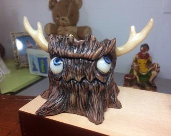 Happy Little Stump, original sculpture