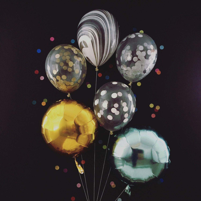 Shiny Balloons Bright And Shiny Party Balloons  Nye Party Decorations