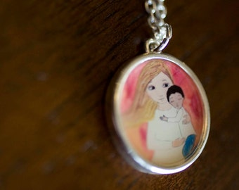 Adoption Necklace from Jodi Queenan, Artist