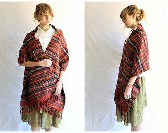 vintage boho woven wrap tassel trim