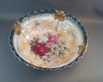 Vintage Lustre Ware Porcelain Bowls, German Lustre Ware Bowl, Antique Luster Ware Bowls, Fancy Porcelain Bowls, German Porcelain, *USA ONLY*