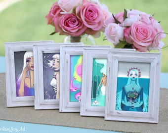 Set of 5 Mini Prints: Your Choice
