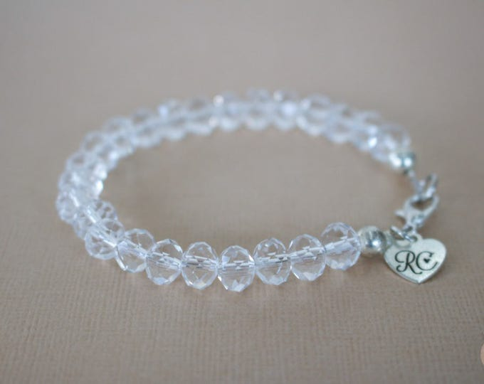 RC Signature It's Crystal Clear Bracelet.
