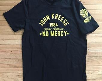 Sensei John Kreese Karate 80's Fight Legend Cobra No Mercy Shirt American Apparel